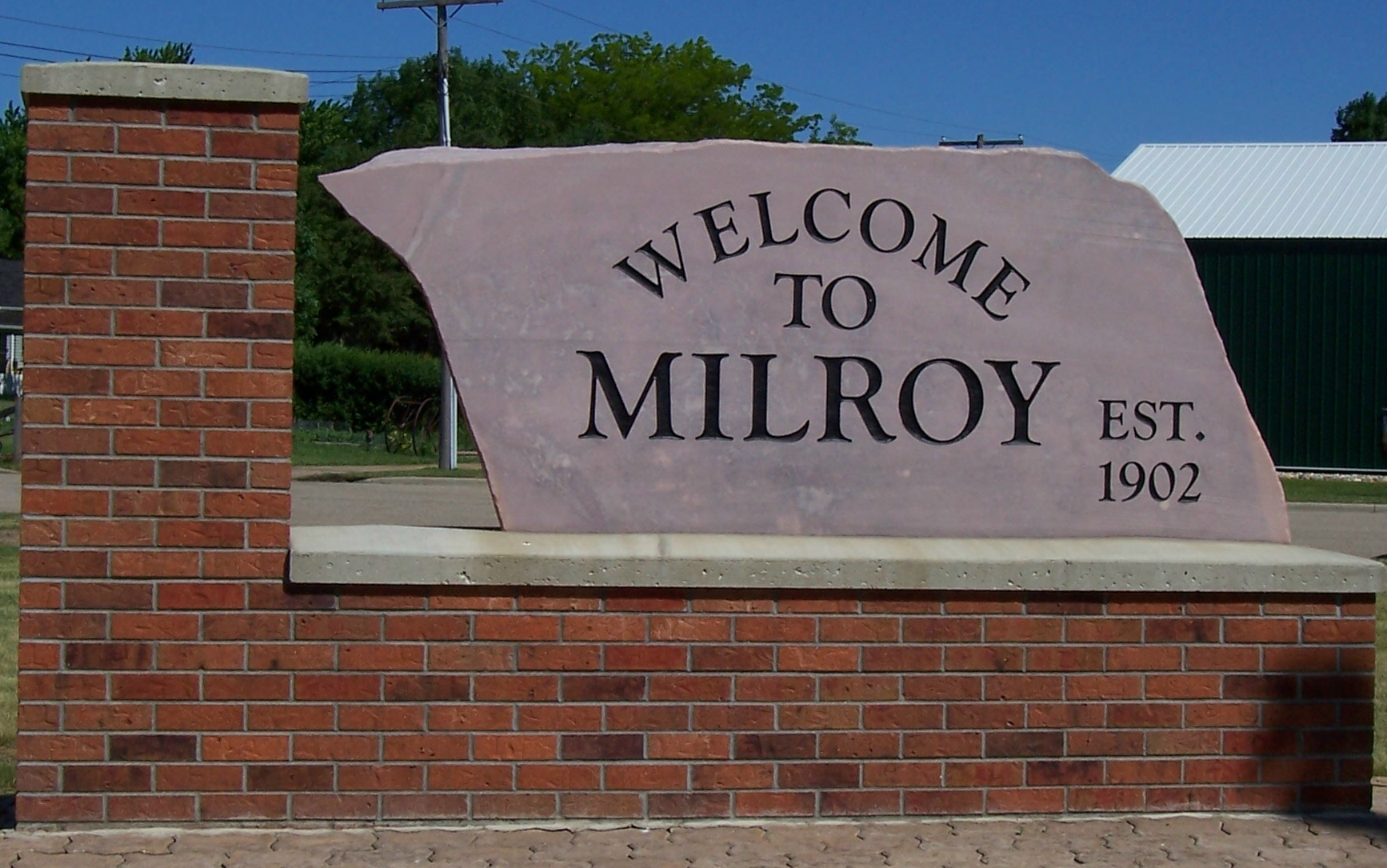 City of Milroy Slide Image